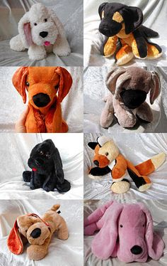 Dog Breeds  by TALLhappyCOLORS on Etsy #handmade #plushdog #dogbreeds #dogs #oldeglishsheepdog #sheepdog #germanshepherd #germanshepherddog #alsatian #GSD #RhodesianRidgeback #pug #GreatDane #AmericanCockerSpaniel #BlackSpaniel #blackdog #CockerSpaniel #blackCockerSpaniel #Poodle #blackpoodle #blackpuppy #fox #basset #hound #bassethound #pinkpuppy #floppypuppy #fluffydog TALLhappyCOLORS.Etsy.com