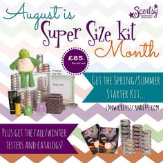 Work from Home and earn money in your spare time.  Contact me via: ldnwickless@gmail.com for more info.  Every August and February there is a special offer on becoming a Scentsy Consultant.