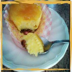 Mini-tartas de queso.