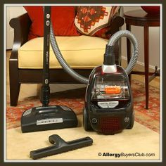 Party of Three, but Room for More: Electrolux Canister Vacuum Giveaway ($399.00) + Review