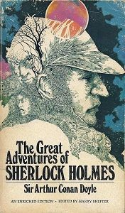 this is one from a delightful collection of Sherlockian bookcover designs over time.