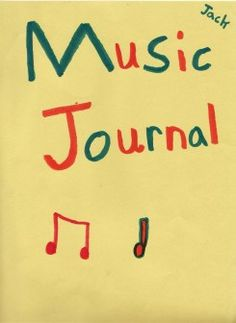 Music Journals... wanna do this next year.