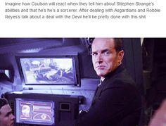 Superhero nanny Coulson is NOT happy.