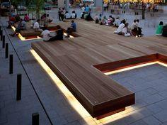 Banco de madera sin respaldo HARRIS ISOLA by Metalco diseño Sjit