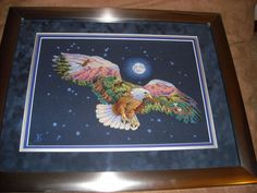 Eagle i stitched for Sean