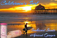 California's Surf - Pink Zebra Recipe! Sun kissed Sands & Apricot Ginger