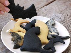 竹炭パウダー お菓子 クッキー ハロウィン 炭スイーツ 手作りお菓子 Cookies Halloween cooking bamboocharcoal 虎斑竹専門店 竹虎