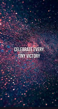 Quotes for Motivation and Inspiration   QUOTATION – Image :    As the quote says – Description  Celebrate every tiny victory! Download this FREE wallpaper @ www.V3Apparel.com/MadeToMotivate and many more for motivation on the go! / Fitness Motivation / Workout Quotes / Gym... - #InspirationalQuotes