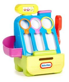 Amazon.com: Little Tikes Count 'n Play Cash Register Playset: Toys & Games
