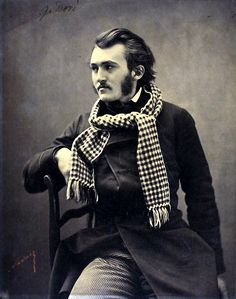 Felix Nadar  (1820-1910) was a French portrait photographer whose subjects included some very prominent people indeed. His real name was Gas...