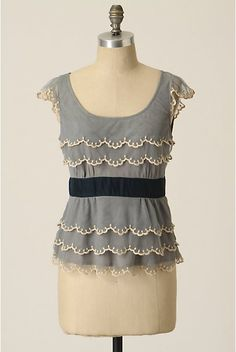 Ice Capped Blouse
