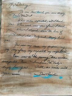 This was a love letter I wrote several years ago and decided to use it as an underlayer Modern Art, Contemporary Art, Amsterdam Art, Letter I, Love Letters, Custom Art, Paintings For Sale, Art For Sale, Home Art