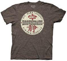 Browncoats Badge Firefly mens t-shirt
