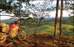 The joys of adventure riding
