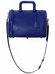 3.1 Phillip Lim / Wednesday Medium Cobalt Boston Satchel