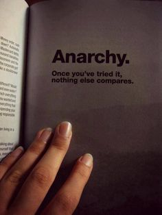 anarchy ~ nothing compares