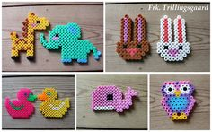 perler beads Pinned by www.handmadekids.com.au