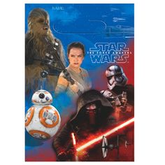 Star Wars - The Force Awakens Party Favor Bags - 8 ct