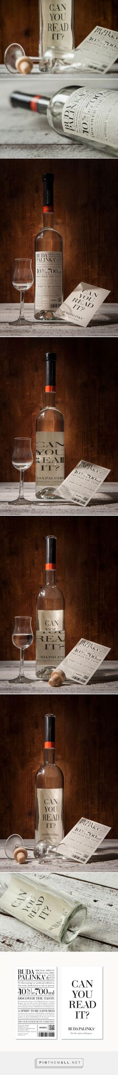 Buda Pálinka #concept #packaging by kissmiklos - http://www.packagingoftheworld.com/2015/02/buda-palinka-concept.html