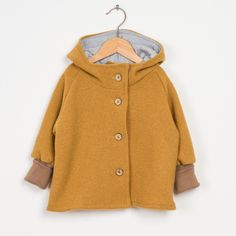 Woolenjacket curry Source by Sewing For Kids, Baby Sewing, Little Fashion, Kids Fashion, Babies Fashion, Kids Wear, Baby Kids, Minis, Girl Outfits