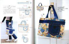 Eskiyen Kot Pantolondan çanta Yapımı Ilginç El Işi örgü Dantel örnekleri   Dantel    Ilginç El Işi örgü Dantel örnekleri   Modelleri