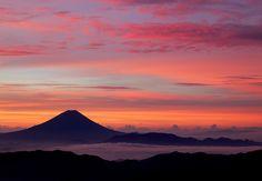 mount Fuji of japan!! from KITA-DAKE
