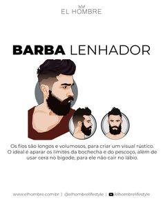 barbas, tipos, estilos