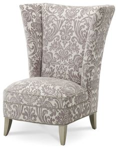 Overture High Back Chair   Modern   Chairs   Carolina Rustica   Possibility  For Living Room