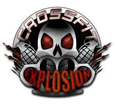Crossfit Explosion Logo. Design by Erin Diurba.