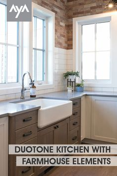 Kitchen And Bath, New Kitchen, Kitchen Cabinetry, Cabinets, Duo Tone, Kitchen Gallery, Transitional Kitchen, Beautiful Kitchens, Contemporary