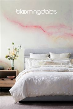 Give your master suite the five-star treatment with sophisticated bedding collections from Donna Karan and more. Toddler Girl Bedding Sets, Master Bedroom Makeover, Dream Decor, Luxury Bedding, Modern Bedding, Beautiful Bedrooms, Home Decor Bedroom, Bed Design, Interior Design Living Room