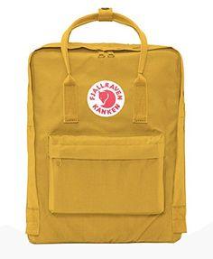 Fjallraven Kids' Kanken Backpack - Ochre