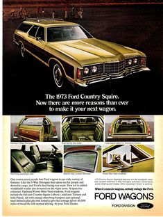 Station Wagon, Ford Mustang, Autos Ford, Automobile, Pub Vintage, Vintage Holiday, Ford Ltd, Ford Classic Cars, Best Luxury Cars