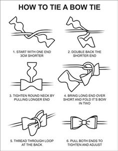 Doctor who party game. Give guests diagrams and bow ties for who can tie the best bow tie contest.