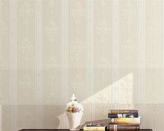 plain simple wallpapers vertical warm living striped beibehang european roll aliexpress