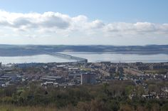 Dundee from Law Hill