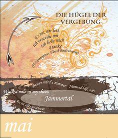 Calendarium - Persönliche Entwicklung - train the eight - design: Dodo Kresse - Thema 5: Reinigung durch Vergebung