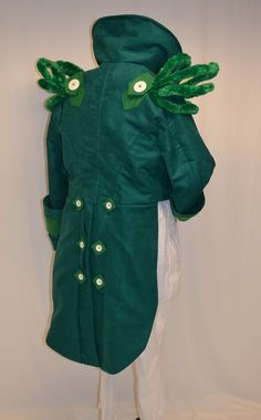 Wizard of Oz (Doorman) Back view by magic-needle