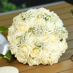 Find More Wedding Bouquets Information about 2016 New Arrival 6 Colors wedding bouquet Handmade Roses Roses buque de noivas wedding flowers bridal bouquets ramos de novia,High Quality flower ball bouquets,China bouquet flower wedding Suppliers, Cheap flower penny from Sunflower Bridal on Aliexpress.com