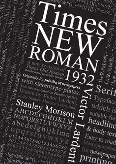 Times New Roman poster by AppleTan.deviantart.com on @DeviantArt