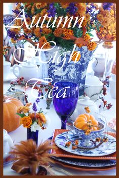 StoneGable: Tablescapes - Autumn Tea