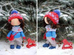 Рождественский ангел кукла мальчик ручной мальчик кукла AnnKirillartPlace