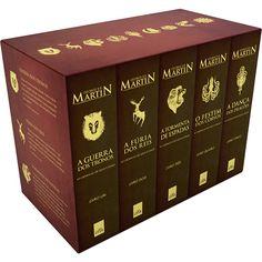 Saga: As Crônicas de Gelo e Fogo de George R. R. Martin.. Já li o volume I!