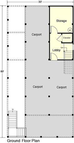 Coastal Home Plans - Cool Breeze II