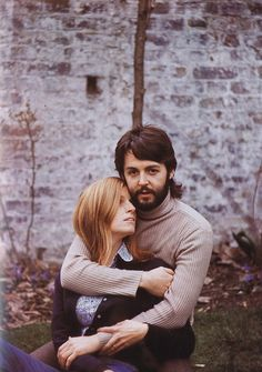 paul and linda, 1970. This was a true love story! She left too early!