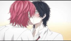 Animated gif shared by ★ТsυβαҚî RîvαîĿĿЄ★. Find images and videos about gif, anime and manga on We Heart It - the app to get lost in what you love. Otaku Anime, Anime Manga, Yuri Gif, Ayato, Anime Gifts, Handsome Anime Guys, Cute Anime Pics, Cute Gay, Best Cosplay