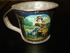 ANTIQUE 1912 TIN LITHO TEACUP BO PEEP MARY LAMB LEO SCHLESINGER DOLL TOY CUP | Toys & Hobbies, Vintage & Antique Toys, Tea Sets | eBay!