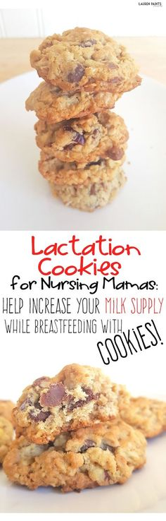 If you are breastfeeding your baby and you want to increase your milk supply, these gluten free cookies are the perfect way to make sure nursing is a breeze for you and your baby! Low Milk Supply, Increase Milk Supply, Baby Food Recipes, Gluten Free Recipes, Cookie Recipes, Healthy Recipes, Food Tips, Healthy Eats, Baking Recipes