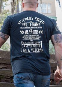 Men's T-Shirt - Veteran's Creed