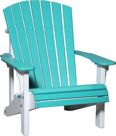 KEY FEATURES Ships Within 1  3 Business Days The Luxcraft Deluxe Adirondack  Chair Features A